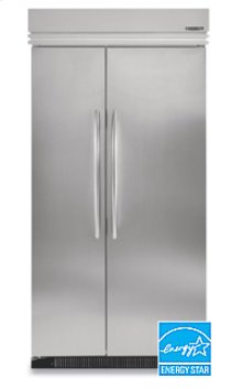 29.9 Cu. Ft. 48 in. Width Side-By-Side Non-Dispensing Built-In Refrigerator Architect® Series(Stainless Steel)