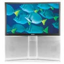 """55"""" Widescreen Rear Projection HDTV Monitor"""