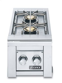 Double Side-Burners for built-in application (LSB2-1)