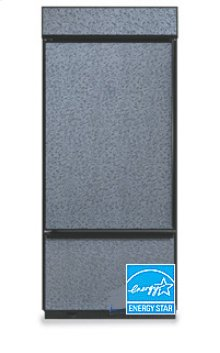 20.4 Cu. Ft. 36 in. Width Freezer-on-the-Bottom Built-In Refrigerator Classic Series Left-Hand Door Swing(Brushed Aluminum Trim/Panel Ready)