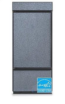 20.4 Cu. Ft. 36 in. Width Freezer-on-the-Bottom Built-In Refrigerator Classic Series Left-Hand Door Swing(Brushed Aluminum Trim/Panel Ready)