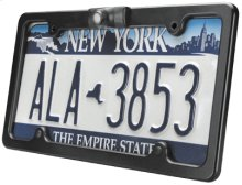 License Plate Frame with an Intergrated CCD Camera and Microphone