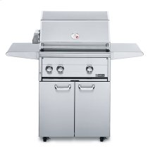 """27"""" Free Standing Grill with Rotisserie (L27FR-1)"""