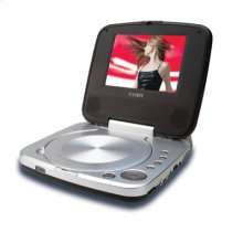 "5"""" TFT PORTABLE DVD/CD/MP3 PLAYER"
