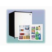 Mid-Size Refrigerator with Platinum Door