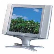 """15"""" Wide LCD Panel TV with Multi-Media PC/DVD/DTV Inputs"""