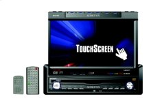 """AM/FM/DVD/CD/CDC/MP3/WMA RECEIVER WITH FULLY MOTORIZED 7"""" TOUCH SCREEN DISPLAY"""