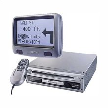 "Navigation System & Route Guidance System w/ 3.7"" Monochrome display"