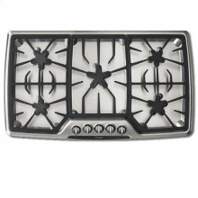 """36"""" STAINLESS STEEL GAS COOKTOP"""