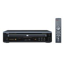 5-Disc Progressive Scan DVD Audio/Video Changer