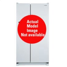 25.2Cu. Ft. Side by Side Refrigerator-Bisque