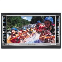 "In-Dash 2-DIN 6.5"" Widescreen Color LCD Monitor/DVD Receiver"