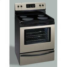 """30"""" Electric Smoothtop Range (This is a Stock Photo, actual unit (s) appearance may contain cosmetic blemishes. Please call store if you would like actual pictures). This unit carries our 6 month warranty, MANUFACTURER WARRANTY and REBATE NOT VALID with this item. ISI 29798"""