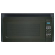 Over-the-Range 2.0 cu. ft. Inverter Microwave Oven with 1200 Watt High Power and Easy-to-Use Pop-Out Dial, Black