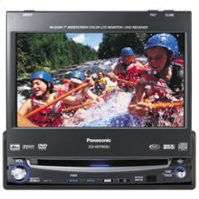 "In-Dash 7"" (diag.) Widescreen Color LCD Monitor/DVD Receiver"