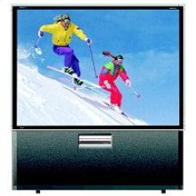 54 Inch Rear Projection HDTV Monitor Television