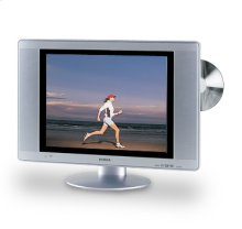 "14"" Diagonal LCD TV/DVD Combination"