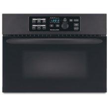 24 in. Built-In Microwave Oven Includes 27 in. & 30 in. Trim Kits(Black)