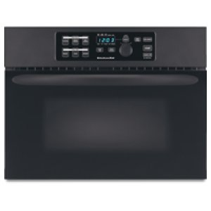 KitchenAid24 in. Built-In Microwave Oven Includes 27 in. & 30 in. Trim Kits(Black)