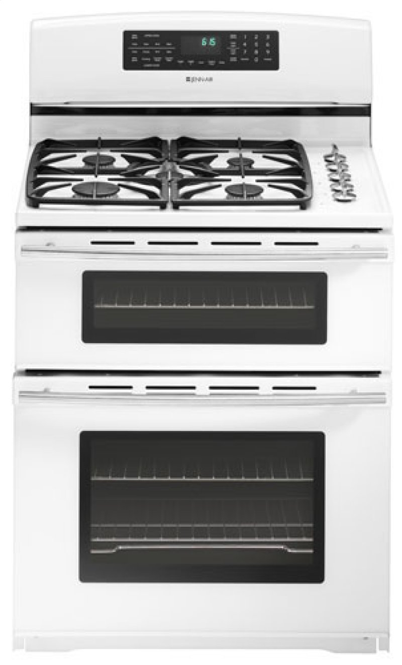 Jenn Air Dual Fuel 30 Double Oven Free Standing Range