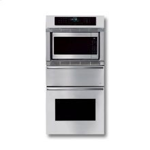 "30"" STAINLESS STEEL TRIPLE OVEN WITH CURVED HANDLES"
