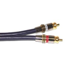 6ft Gold Audio Cable ftom the Ultimate Performance Collection