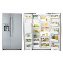 25.9 cu.ft. Side by Side Refrigerator