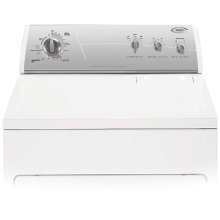 Silver Metallic on White Whirlpool® 8 Cycle, Super Capacity Plus Electric Dryer (This is a Stock Photo, actual unit (s) appearance may contain cosmetic blemishes. Please call store if you would like actual pictures). This unit carries our 6 month warranty, MANUFACTURER WARRANTY and REBATE NOT VALID with this item. ISI 32709