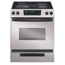 30-Inch Whirlpool Gold® Slide-In Electric Ceramic Glass Range