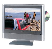 "17"" Diagonal LCD HD Monitor Television with Built-in DVD Player"