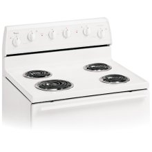 30-Inch Standard Clean Freestanding Electric Coil Range