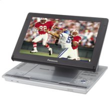 "Portable DVD-Video Player with Adjustable Built-In 9"" Diagonal Widescreen LCD and Multi-Format Playback"