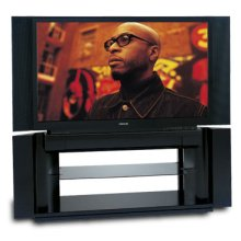 """52"""" Diagonal Cinema Series® 16:9 Integrated HD DLP™ Projection TV with HDMI™"""
