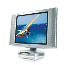"15"" TFT LCD TV/MONITOR with FRONT LOADING DVD PLAYER"