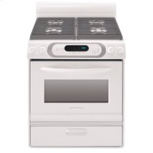 30-Inch Self-Cleaning Free Standing Gas Range