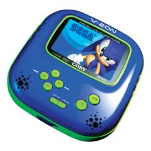 """3.5"""" TFT PORTABLE DVD/CD/MP3 PLAYER WITH BUILT-IN SEGA GAMES"""