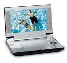 """9"""" Diagonal Widescreen Portable DVD Player"""