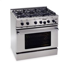 "36"" Professional Dual Fuel Ranges"