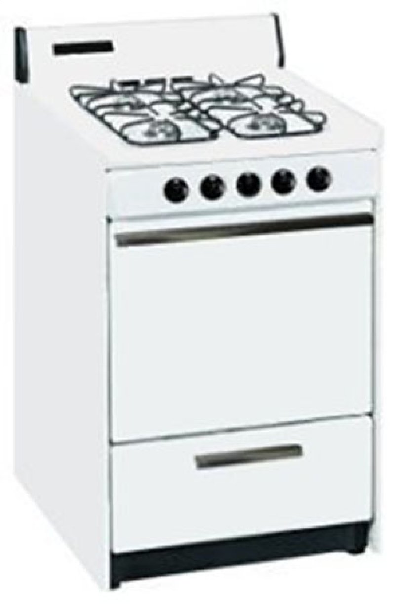 Summit Stm610 Is A 24 Inch Gas Range With Pilot Light Ignition And Lower Broiler Hidden