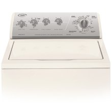 Gold Metallic on Biscuit Whirlpool® 12 Cycle Super Capacity Plus Washer