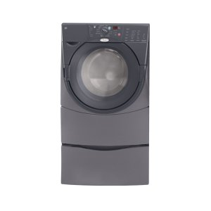 WhirlpoolPewter #1 Rated Front-Load Washer in America ENERGY STAR® Qualified