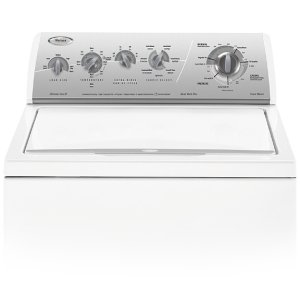 WhirlpoolSilver Metallic on White Whirlpool® 27 Cycle, Super Capacity Plus Washer