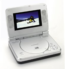"Versatile DVD Player with 4.5"" LCD SCreen"