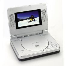 """Versatile DVD Player with 4.5"""" LCD SCreen"""
