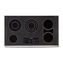 "36"" BLACK CERAMIC ELECTRIC FRONT FRAME COOKTOP"