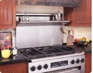 """Backguard for Epicure ERD30 Range. Available in 12"""" or 9"""" heights with Stainless Steel finish. Note: ERD30 ships standard with 6"""" backguard. Product Image"""