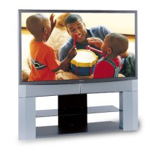 """62"""" Diagonal 16:9 Integrated 1080p HD DLP™ Projection TV with HDMI™"""