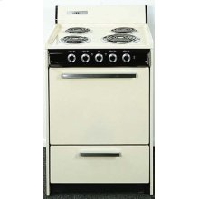 SEM6171Q is a HUD approved range for elderly or assisted living. It is 24 inches wide with indicator lights for each burner and the oven, a cord included and an oven light. All electric (220V) and Made in the USA.