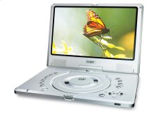 """10"""" TFT PORTABLE DVD PLAYER with SWIVEL SCREEN"""