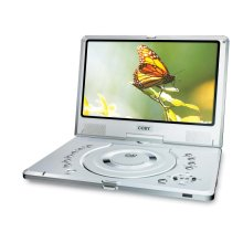 "10"" TFT PORTABLE DVD PLAYER with SWIVEL SCREEN"